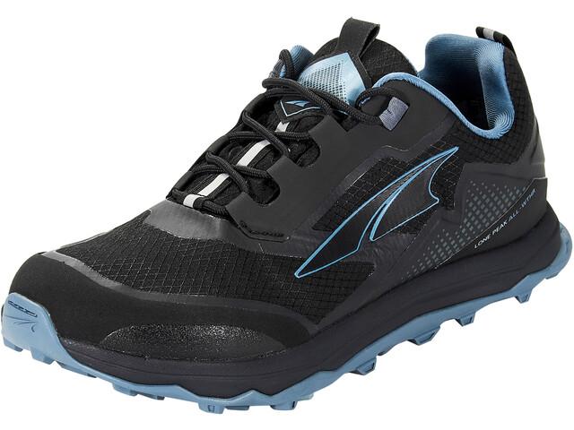 Altra Lone Peak All Weather Low Shoes Women black/blue